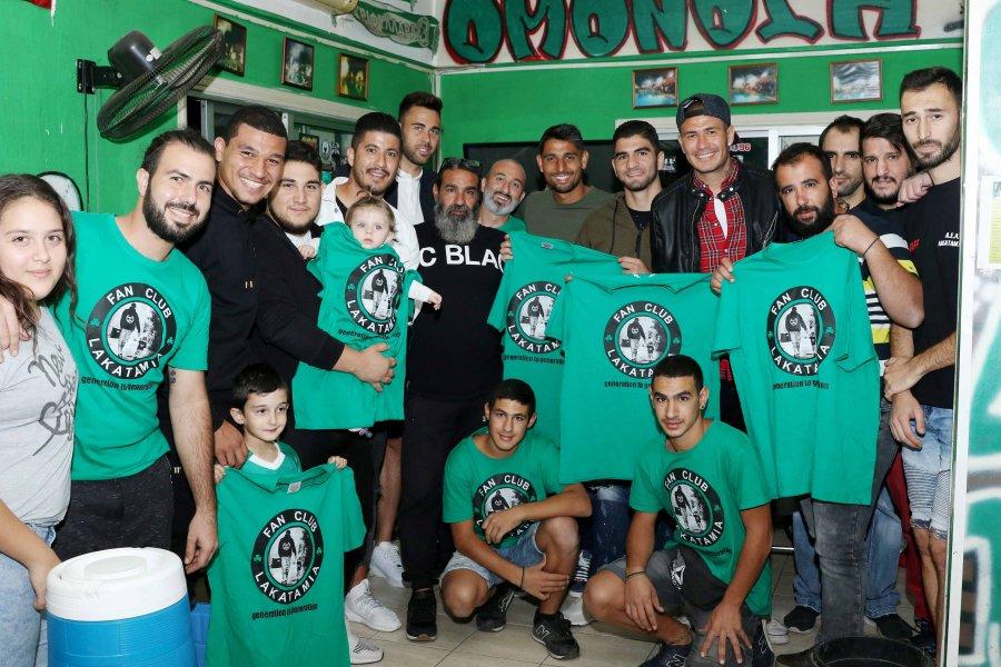Παράγοντες και ποδοσφαιριστές της ΟΜΟΝΟΙΑΣ συμμετείχαν στην 9η ετήσια αιμοδοσία του Fan Club Lakatamias!