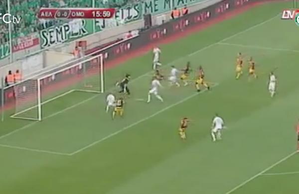 «Αξέχαστα Γκολ»: Αντρέ Άλβες (2011-12, ΟΜΟΝΟΙΑ – ΑΕΛ 1-0)
