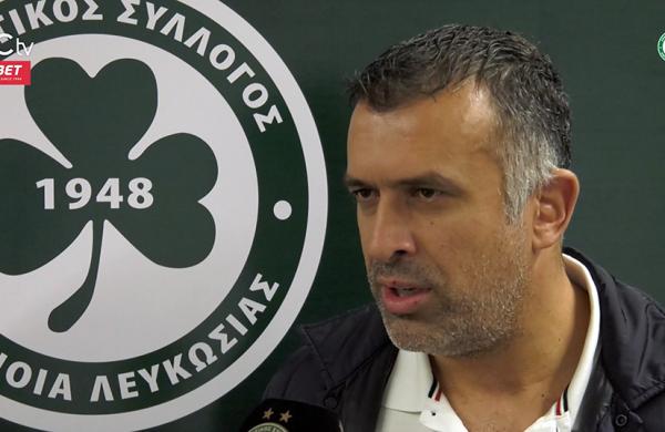 Οι πρώτες δηλώσεις του νέου προπονητή της ΟΜΟΝΟΙΑΣ, Γιάννη Αναστασίου