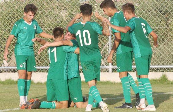 ΑΚΑΔΗΜΙΑ   Ο Σάββας Νικολάου της ΟΜΟΝΟΙΑΣ U19 για το παιχνίδι με την ΑΕΛ