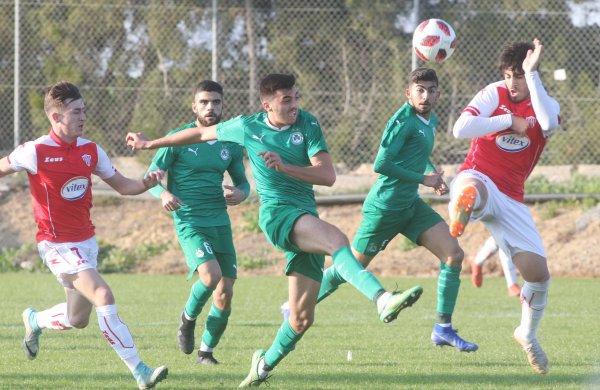 ΑΚΑΔΗΜΙΑ | Φωτορεπορτάζ από την αναμέτρηση της ΟΜΟΝΟΙΑΣ U19 με αντίπαλο τη Νέα Σαλαμίνα