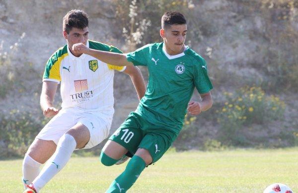 ΑΚΑΔΗΜΙΑ | Εικόνες από το παιχνίδι πρωταθλήματος της ΟΜΟΝΟΙΑΣ U19 με την ΑΕΚ