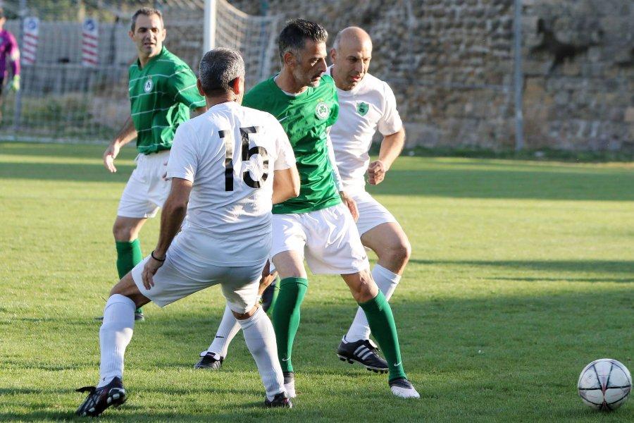 ΠΑΛΑΙΜΑΧΟΙ   Νίκη με 4-0 για τους Παλαίμαχους της ΟΜΟΝΟΙΑΣ επί της Σολιάς