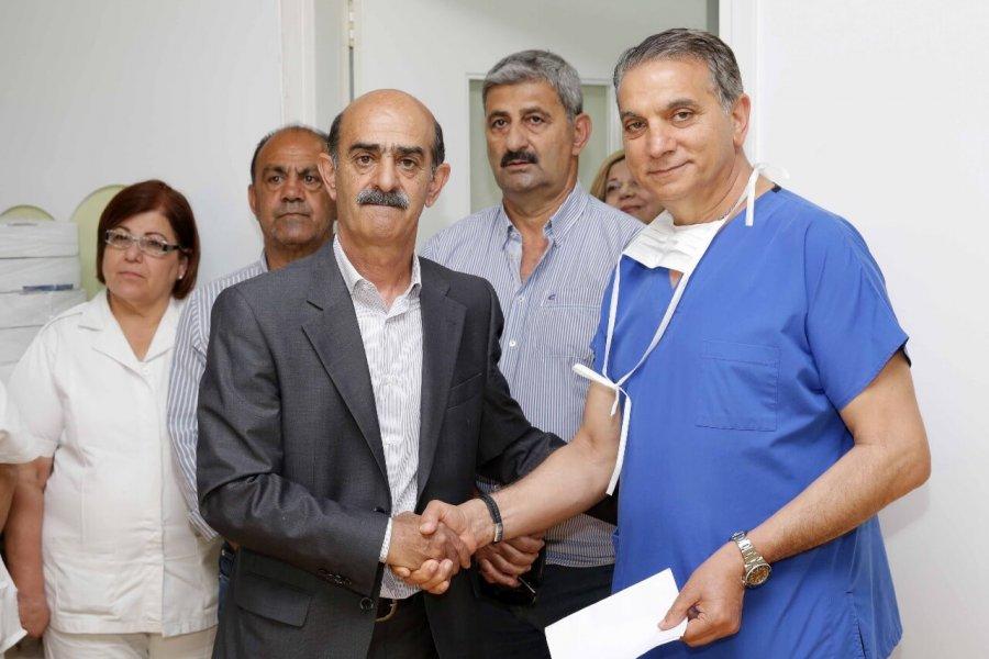 Παραδόθηκε σήμερα η εισφορά στο Μακάρειο Νοσοκομείο