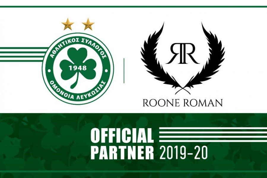 Έναρξη συνεργασίας με LONDOU BROS για προώθηση του brand ROONE ROMAN!
