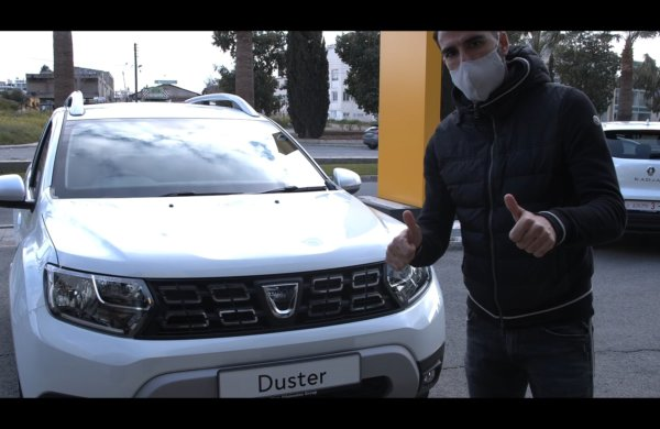Ο Τζιόρντι δοκιμάζει το Dacia Duster!