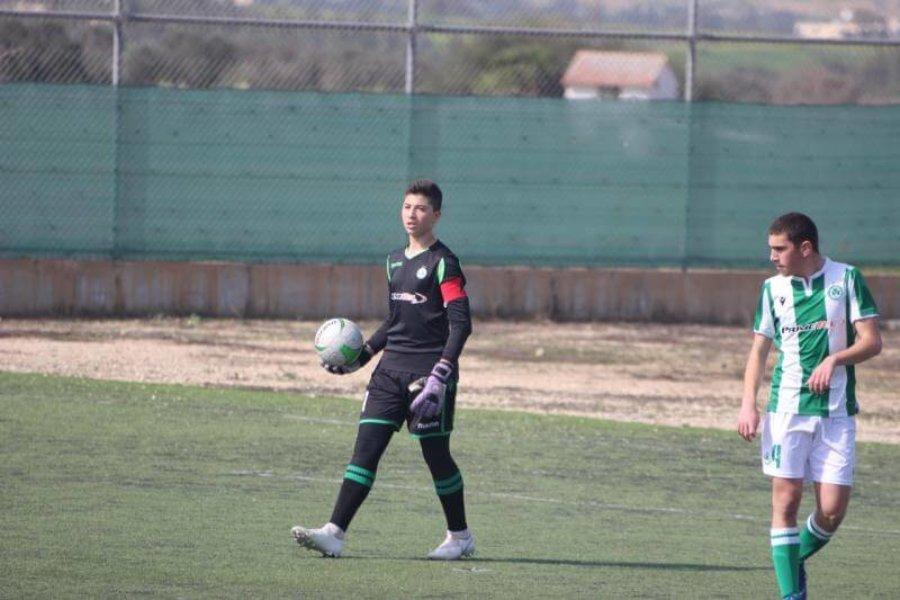 Ο Σωτήρης Κελεπέσιης της U17 ενόψει της νέας σεζόν