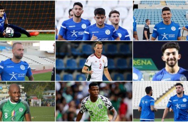 Οι υποχρεώσεις των 16 διεθνών ποδοσφαιριστών μας