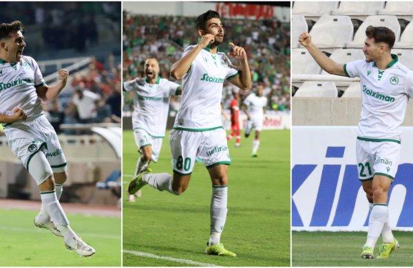 Μέσα στους δέκα νεαρότερους σκόρερ του φετινού Γιουρόπα Λιγκ τρεις ποδοσφαιριστές μας!