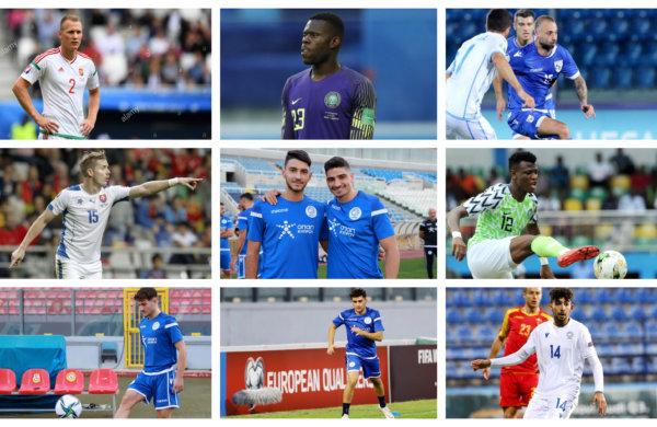 Ο απολογισμός των 15 διεθνών ποδοσφαιριστών μας
