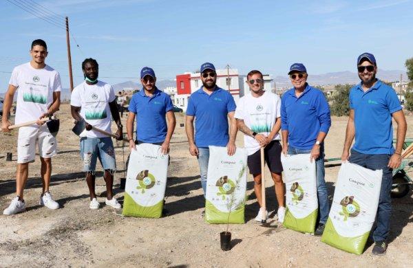 Φυτέψαμε 240 δέντρα στον Δήμο Τσερίου